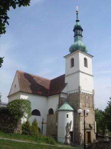 rosický kostel